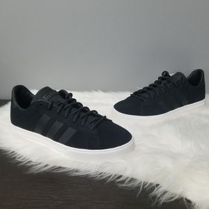 NEW Adidas daily 2.0 black solid basketball shoe